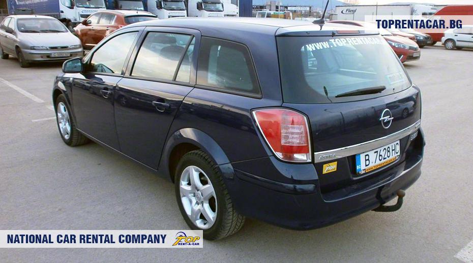 Opel Astra - rückansicht