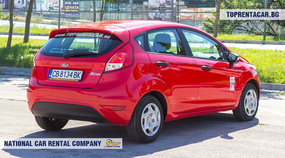 Ford Fiesta - rückansicht