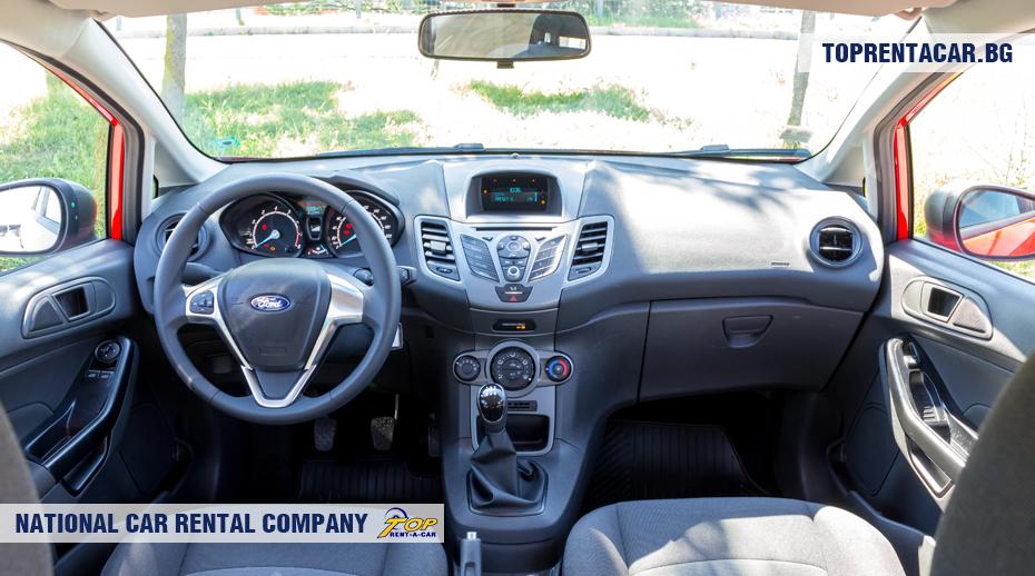 Ford Fiesta - innenansicht